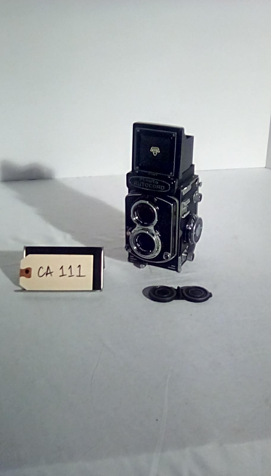 CA111, Minolta, autocord, w/twin lens reflex ( & cover)