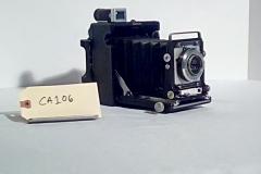 CA106, Reporter camera, Century Graphic,w/electronic flash, Accordion fold lens