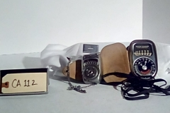 CA112, Light meter,  w/case & strap