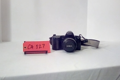 CA127, minolta maxxum 3xi, , 35mm SLR Film Camera is an autofocus 35mm single-lens reflex , w/strap,