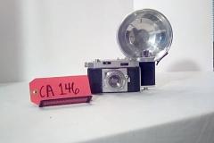 CA146 Agfa Karat 36, w/working flash, case cover, flah mount, & instructional manual