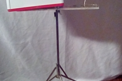 MUS108 metal generic adjustable music stand