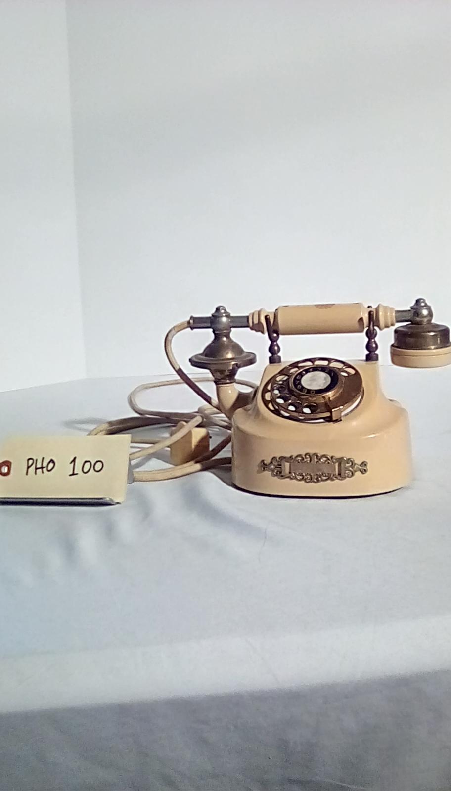 PHO100 1950's rotary  desk phone