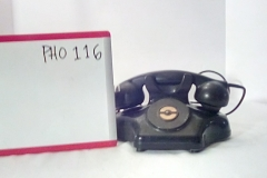 PHO116 Black master desk phone w/out dial