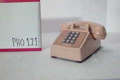 PHO121 Beige generic push button desk phone